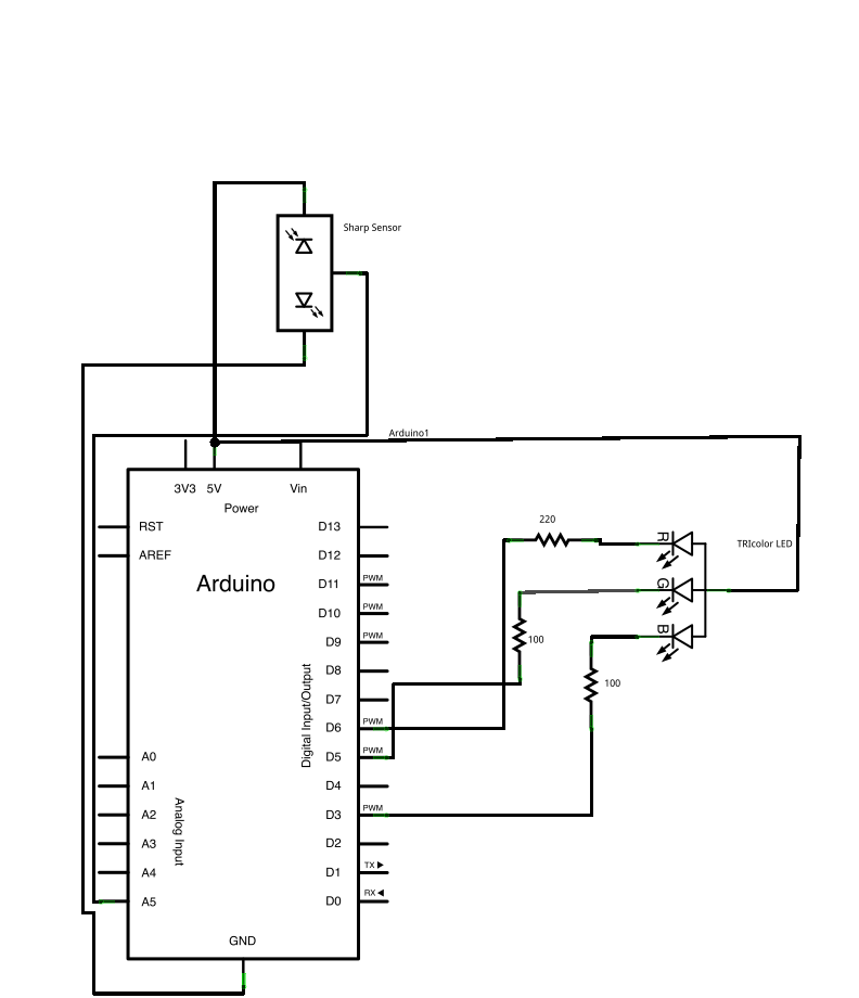 Nec Protocol Ir Infrared Remote Control furthermore Rangkaian Dan Cara Kerja Catu Daya Switching furthermore Automatic Street Light Circuit moreover Uart  munication Between Two Atmega8 Microcontrollers likewise Working With Seven Segment Displays. on arduino led circuit